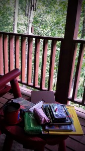 Back Porch art station - Pigeon Forge, TN